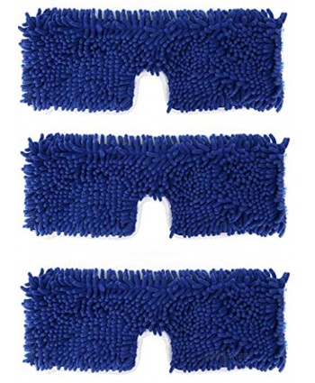 3 Pack Mop Refills Compatible with O-Ceda Dua-Action Microfiber Mop Replacement Mop Heads for Dry Wet Use Machine Washable Double Sided All Surface Cleaning