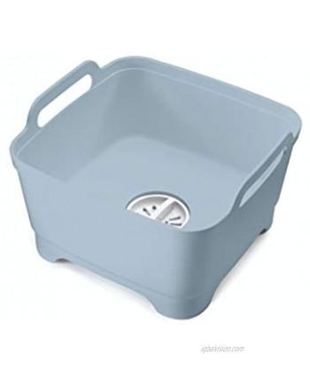Joseph Joseph Wash&Drain Washing Up Bowl Grey Blue One Size 85095