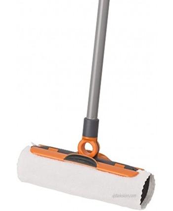 Casabella Flex-O Sweeper with 3 Cloths Graphite and Orange