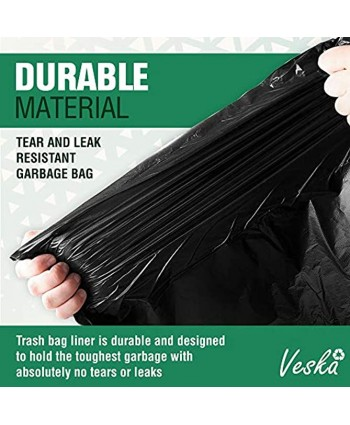 95-100 Gallon Large Black Trash Can Liners Huge 25 Case w Ties Extra Large Heavy Duty Trash Bags 90 Gallon 95 Gallon 96 Gallon 100 Gallon Trash Bags
