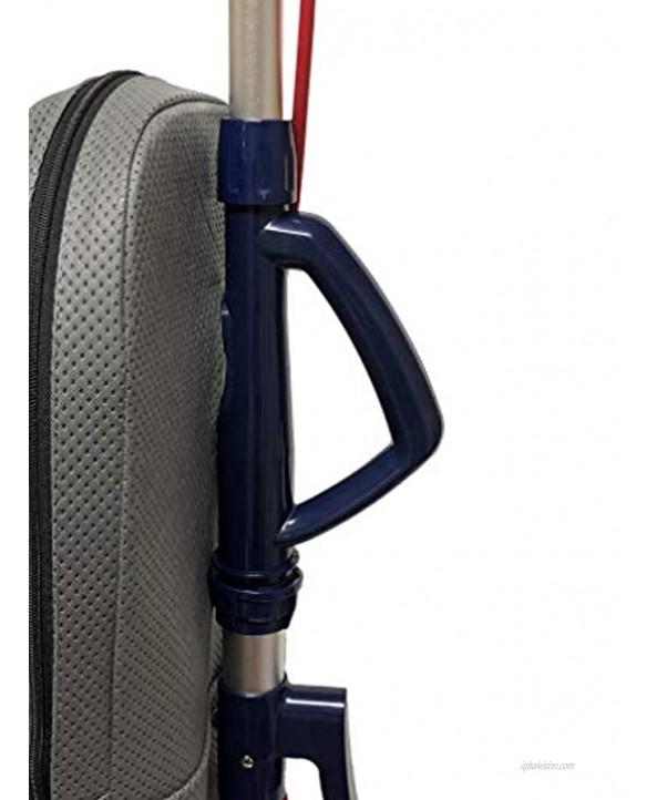 BISSELL BigGreen Commercial Lightweight 8lb Upright Vacuum Cleaner BGU7100 Blue