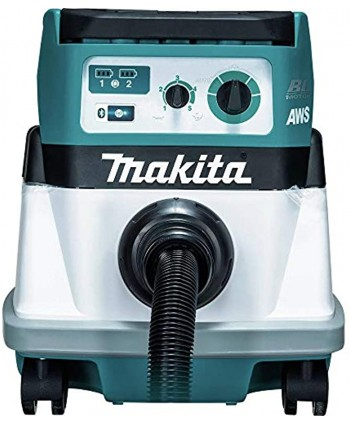Makita XCV16ZX 18V X2 LXT 36V Lithium-Ion Brushless 4 Gal. HEPA Filter AWS Dry Dust Extractor Tool Only