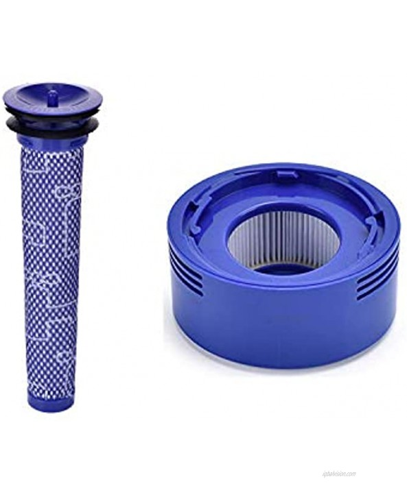 Anicell Replacement Filter for Dyson V8 Filter Replacement Kit for Dyson V8 V8+ V7 Absolute Animal Motorhead Vacuums 2 HEPA Post Filter 2 Pre Filter Compare to Part # 965661-01 & 967478-01