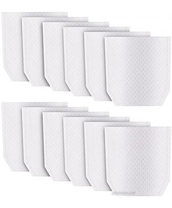 12Pcs Cloth Vacuum Filter Compatible with Makita T-03193