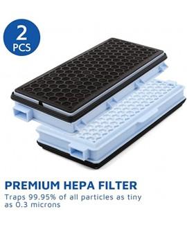 Model SF-HA 50 Active HEPA Filter for Miele Vacuum Cleaner S4 S5 S6 S8 S8000 S8999 S6000 S6999 S5000 S5999 S4000 S4999 Complete C2 Complete C3 Compact C1 Compact C2 2 Pack