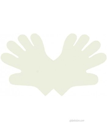 Disposable Food Prep Gloves – Compostable Latex-Free Gloves Made of Plant-Based PLA Pack of 100; Large – Your Perfect Partner in Hygienic Eco-Friendly and Safe Food Preparation. Non-plastic