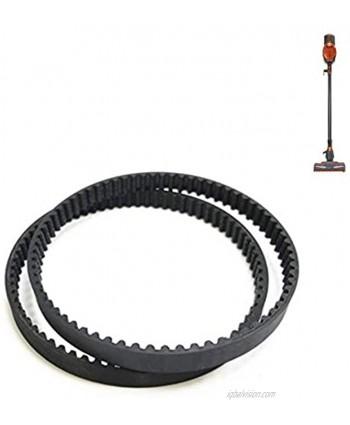 Replacement Belt for Shark HV300 Vacuum Cleaner,Compatible with Models: HV301 HV302 HV305 HV308 Series(2 Belt