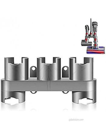 No brand Accessory Holder Compatible with Dyson V7 V8 V10 V11 Vacuum Cleaner Attachment Holder Docking Station Grey