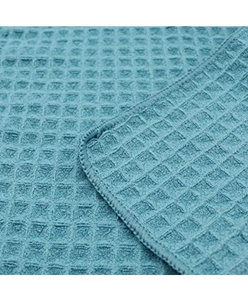 Kitchen Dish Cloths Rags Soft Quick Drying Dish Towels Clothes for Washing Set 6 Pack 12 in x 12 in Blue 6