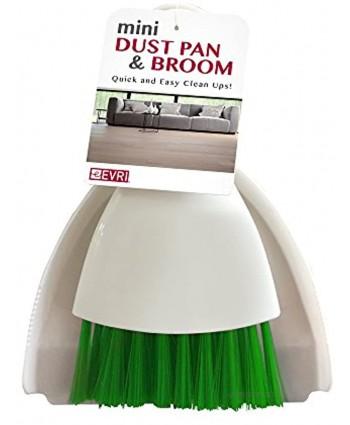 Evriholder B01MQRHLNY Mini Dust Pan & Broom Red Green